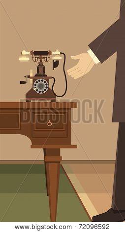 receive a call