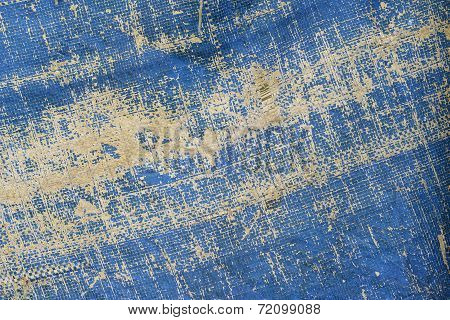 Background of Blue Nylon