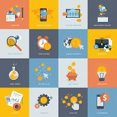 stock photo of transfer  - Icons for website development and mobile phone services and apps - JPG