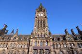 stock photo of city hall  - Manchester  - JPG