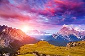 picture of south tyrol  - Great view of the Cadini di Misurina range - JPG