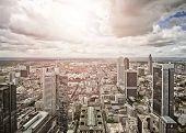 picture of frankfurt am main  - aerial view of Frankfurt am Main - JPG