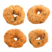 image of urad  - Vada is a savoury snack from South India - JPG
