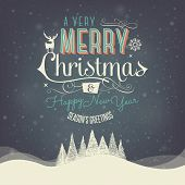 image of classic art  - Christmas Greeting Card - JPG