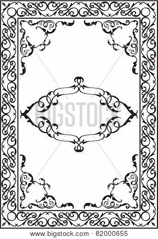 Old Nice Art Foliant Frame