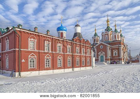 Churches In Kolomna Kremlin