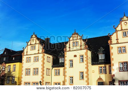Friedberg Castle, near Bad Nauheim and Frankfurt, Hesse, Germany