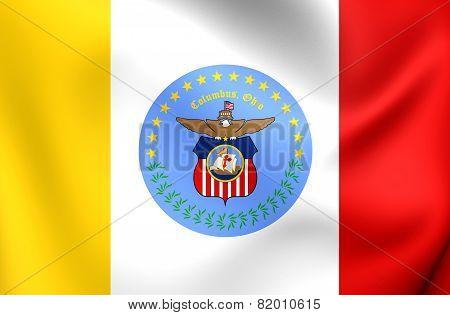 Flag Of Columbus, Usa.