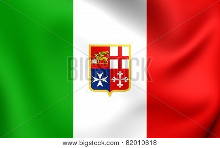 Civil Ensign Of Italy