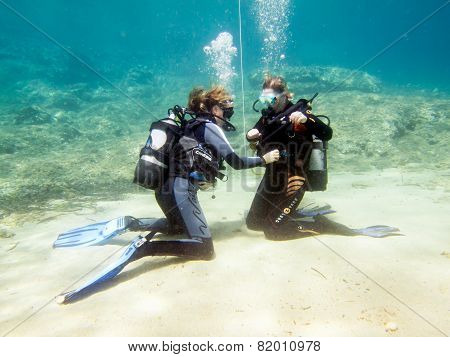 Female Divers