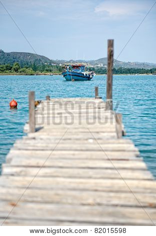 Jetty and Fishing Boat