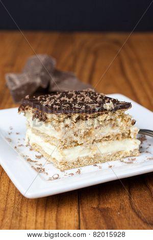 Boston Creme Pie Dessert