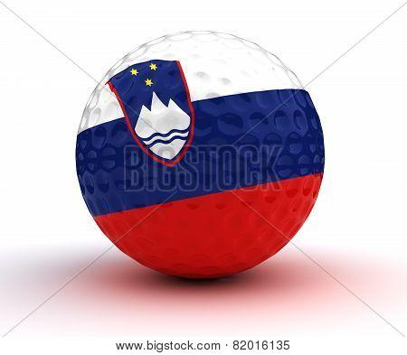 Slovenian Golf Ball