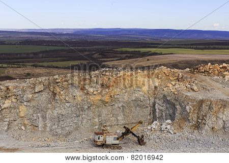 Quarry And Old Machine