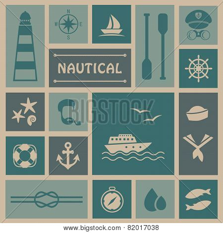 nautical background,