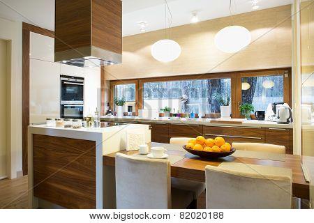 Modern Kitchen With Island