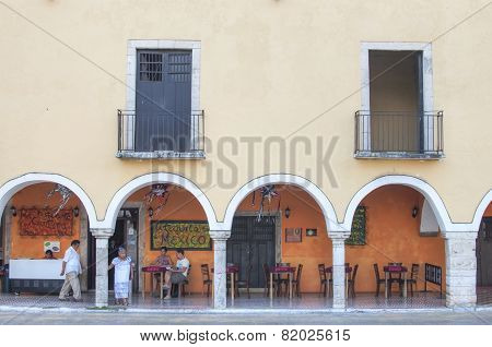 Colonial Style Mexican Restaurant