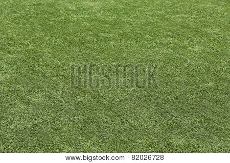 Artificial Green Grass Turf Texture Background