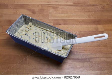 Dough In Cake Tin