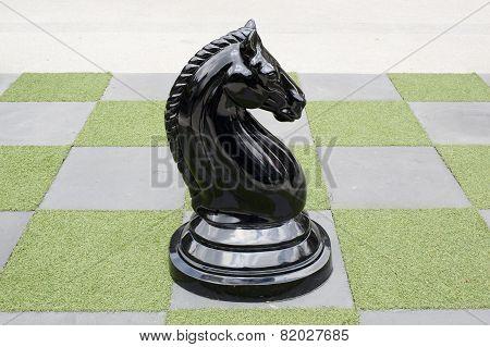 Big Chessboard - Big Horse Chess