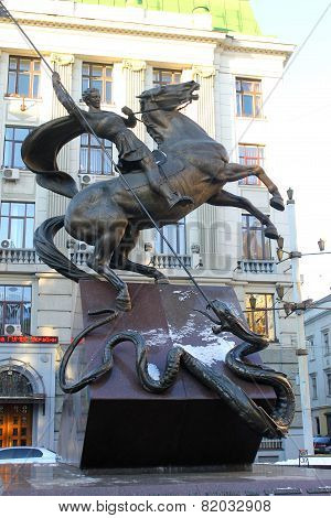 Monument in Lviv