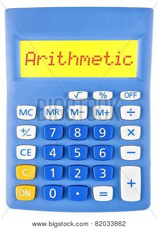 Calculator With Arithmetic