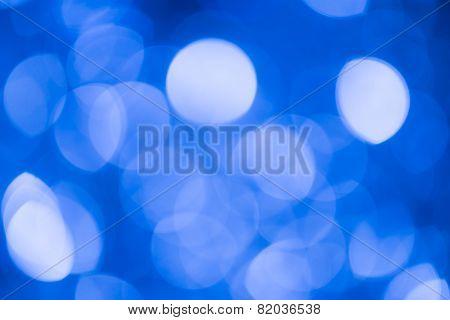 Blur Lights Blue