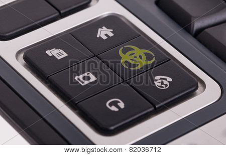 Buttons On A Keyboard - Biohazard
