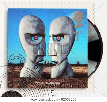Pink Floyd Stamp