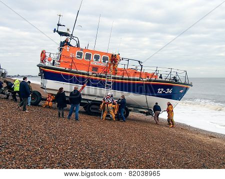 Lifeboat Launch
