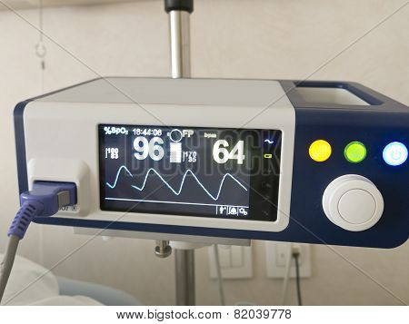 System Anapnotherapy. Monitor With Health Data Based