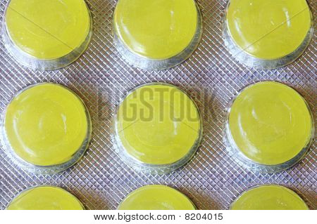 Yellow Throat Lozenges