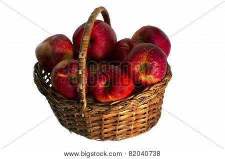 Apples In A Wattled Basket