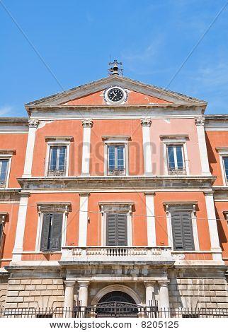 Episcopal Seminary Palace. Molfetta. Apulia.