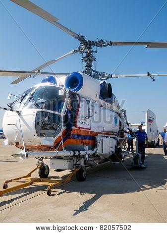 Kamov Ka-32 Fire Attack System