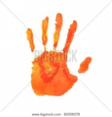 Art hand paint