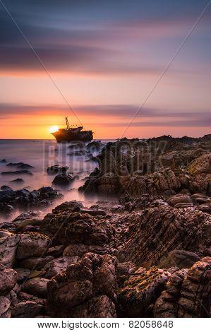 Agulhas Shipwreck