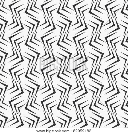 Repeating Ornament Many Gray Corners