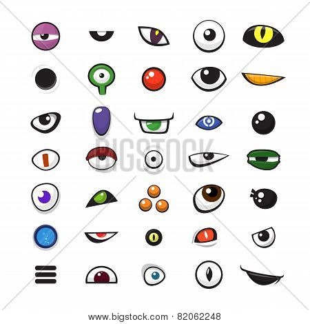Monster_eyes_set