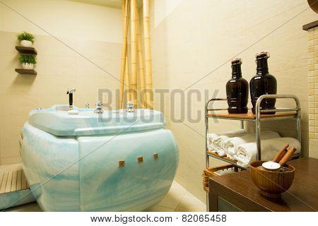 Jacuzzi In Beauty Resort