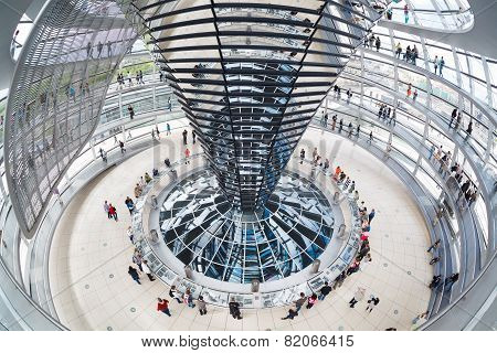 Modern Dome On Reichstag