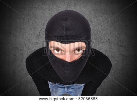 Terrorist In Mask