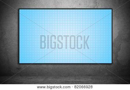 Blank Plasma Panel
