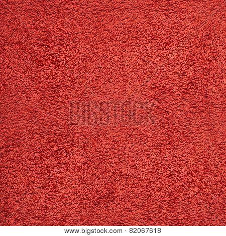 Terry cloth towel texture