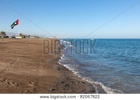 Beach At The Gulf Of Oman