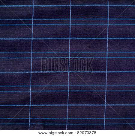 Fragment of a deep blue fabric