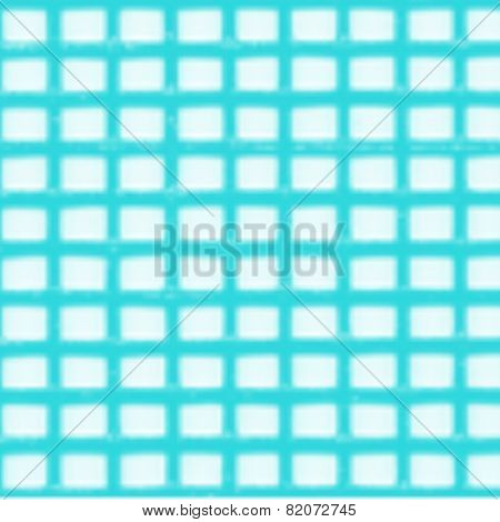 Blue And White Square Pattern