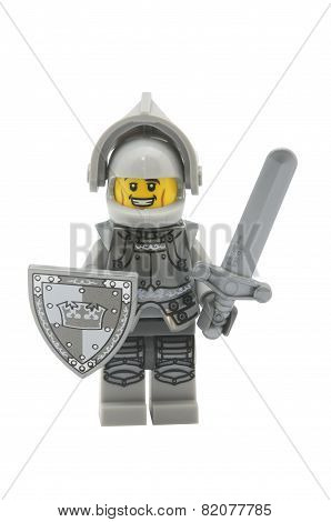 Heroic Knight Lego Minifigure