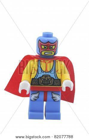 Super Wrestler Lego Minifigure