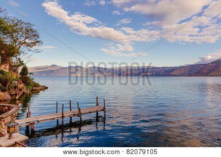 Peaceful Day at Lake Atitlan